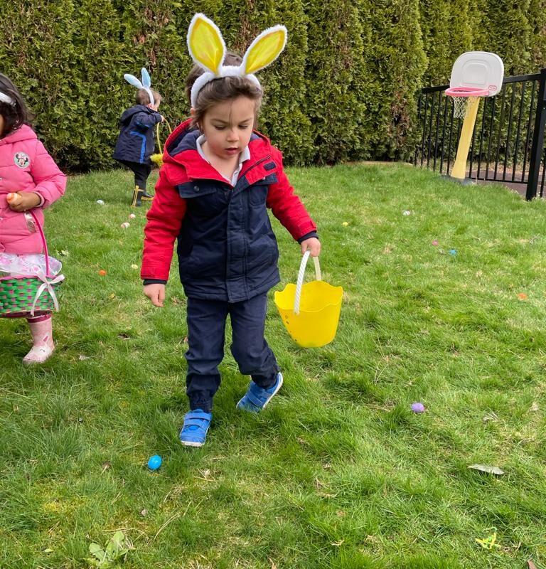 Easte eggs hunt